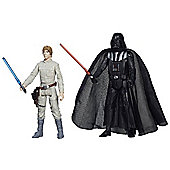 Star Wars Mission Series Figure Set (Darth Vader and Luke Skywalker) MS03