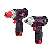 Sparky BR2GUR108 Impact & Drill Driver Twin Pack 10.8 Volt 2 x 1.3Ah Li-Ion