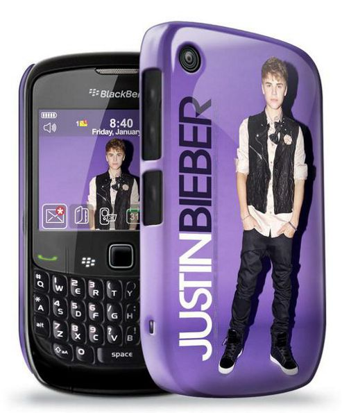 Upfront Case Limited Blackberry 8520 - Official Justin Bieber Phone Clip Case