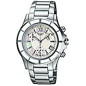 Casio Sheen Ladies Stainless Steel MOP Dial Watch SHE-5516D-7AEF