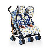 Cosatto Supa Dupa Twin Stroller - Fox Tale