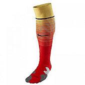 2013-14 Barcelona Away Nike Football Socks - Red