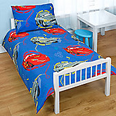 Character World Disney Cars Spy Junior Rotary 4 Piece Bedding Bundle Set