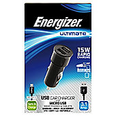 Energizer Ultimate In Car Charger Micro USB