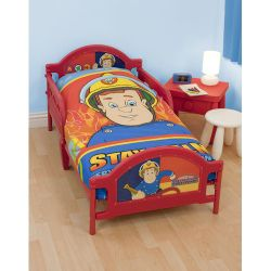 Character World Fireman Sam Hero Toddler Bed