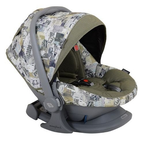 Bebecar Urban Denim Easy Maxi ELs Car Seat (Green Patchwork)