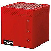 Bem Bluetooth Portable Speaker Red