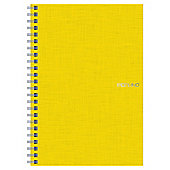 Fabriano A5 Spiral Notebook, Lemon