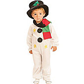 Child Cute Snowman Costume Toddler
