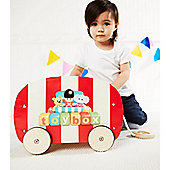 Toybox Pull Along Wagon