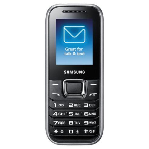 O2 Samsung E1230 Black