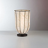 Siru Vecchia Murano One Light Table Lamp - 32cm X 20cm W - Amber Scavo