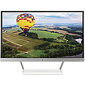 HP Pavilion 24xw 23.8 TechniColour Full-HD IPS Backlit Monitor White Stand
