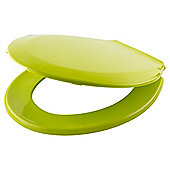 Tesco Basic Plastic Toilet Seat, Lime
