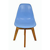 Eames Flow Dining Chair Blue