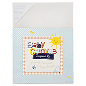 Baby Boy Canvas Imprint Kit