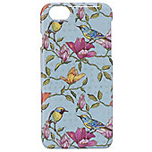 Tortoise Hard Protective Case,iPhone 6, Bird and Flower Print. Multi.