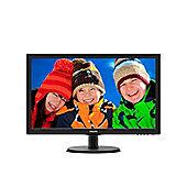 "Philips V-line 223V5LSB 21.5"" LED Monitor 1920x1080 Resolution"