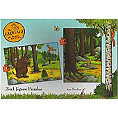 The Gruffalo 2 in 1 Puzzle 24 And 12 Pieces