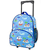 Children's Rolling Luggage- Pirates