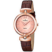 Candino Ladies Brown Leather Watch C4567/2
