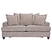 Kensington Fabric Scatter Back Sofa Bed Taupe