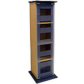Manhattan - Glass Door Cd / Dvd / Blu-ray / Media Storage Shelves