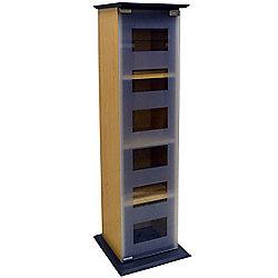 Manhattan - Glass Door Cd / Dvd / Blu-ray / Media Storage Shelves