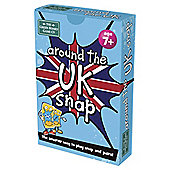 BrainBox Around The UK Snap & Piars Green Board Games