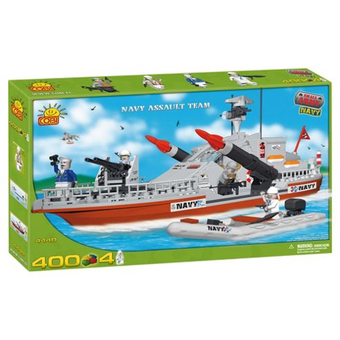 Cobi Small Army 400 Pcs Navy Assault