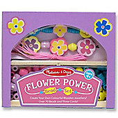 Flower Power Wooden Beads Set - Melissa & Doug