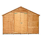 BillyOh 400 7 x 10 Windowless Overlap Apex Shed