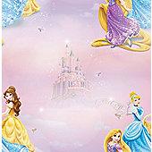 Disney Pretty as a Princess Multi Wallpaper