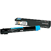 Lexmark C950 Cyan Extra High Yield Toner Cartridge