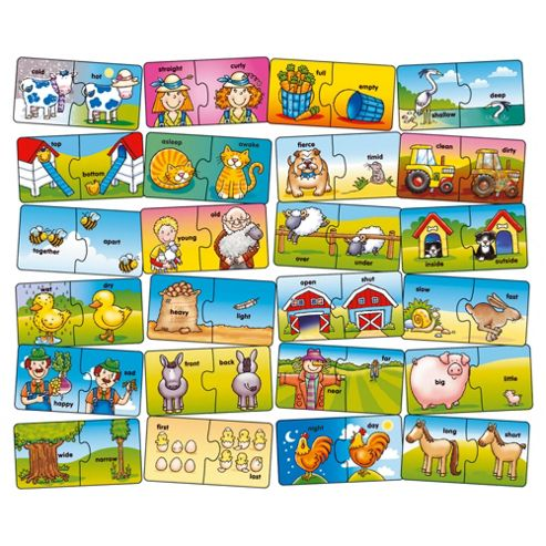 Orchard Toys Farm Opposites Educational Game