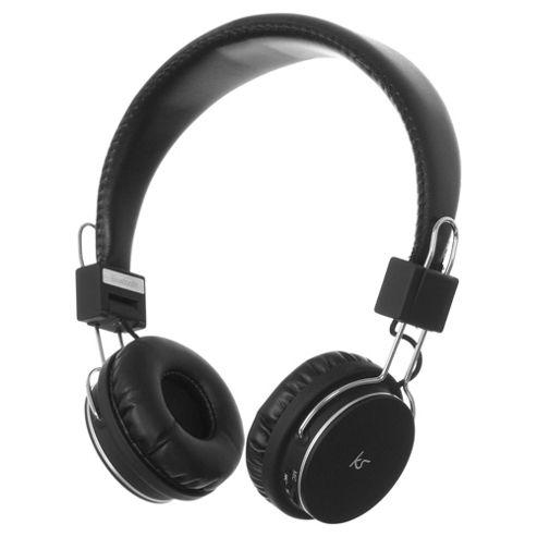 Kitsound Manhattan Overhead Wireless Headphones - Black