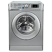 Indesit Innex XWE91483XS Washing Machine, 9Kg Wash Load, 1400 RPM Spin, A+++ Energy Rating, Innex