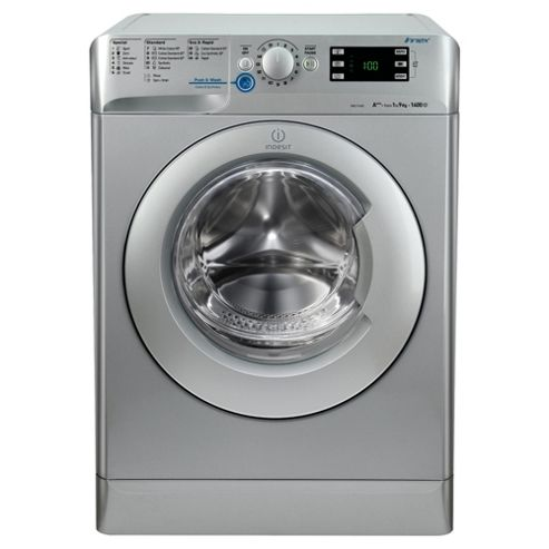 Indesit Innex XWE91483XS Washing Machine , 9Kg Load, 1400 RPM Spin, Innex