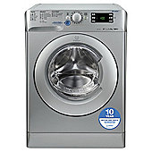 Indesit Innex Washing Machine, XWE91483XS, 9KG Load, Silver