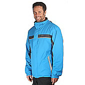 Jasper Mens Warm Skiing Snowboarding Winter Snow Boarding Ski Jacket Coat - Blue