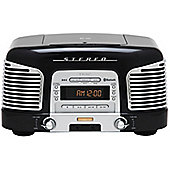 TEAC SLD930 CD/FM/AM Retro Hifi System with Bluetooth (Black)