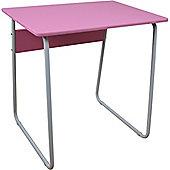 Harbour Housewares Computer, Laptop Wooden Desk - Pink