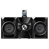 Sony MHCEC719IP 470W Mini Hi-Fi FMAM system with dock for iPod & iPhone in Black
