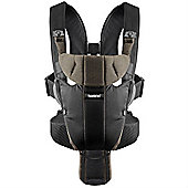 BabyBjorn Baby Carrier Miracle Organic (Black/Brown)