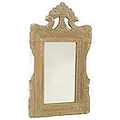Papa Theo Small Victoria Mirror - Natural Limed