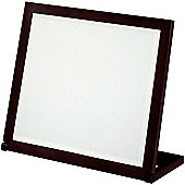 Witham - Free Standing Folding Bathroom / Travel Mirror - Black