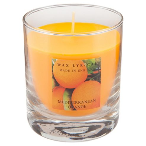 Wax Lyrical Made In England Boxed Candle Med Orange