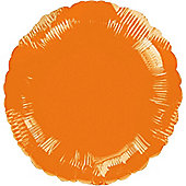 Orange Round Balloon - 18' Foil (each)