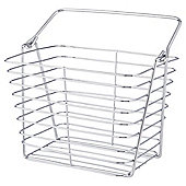 Wire Storage Basket, Chrome