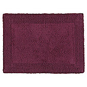 Tesco Reversible Bath Mat Plum